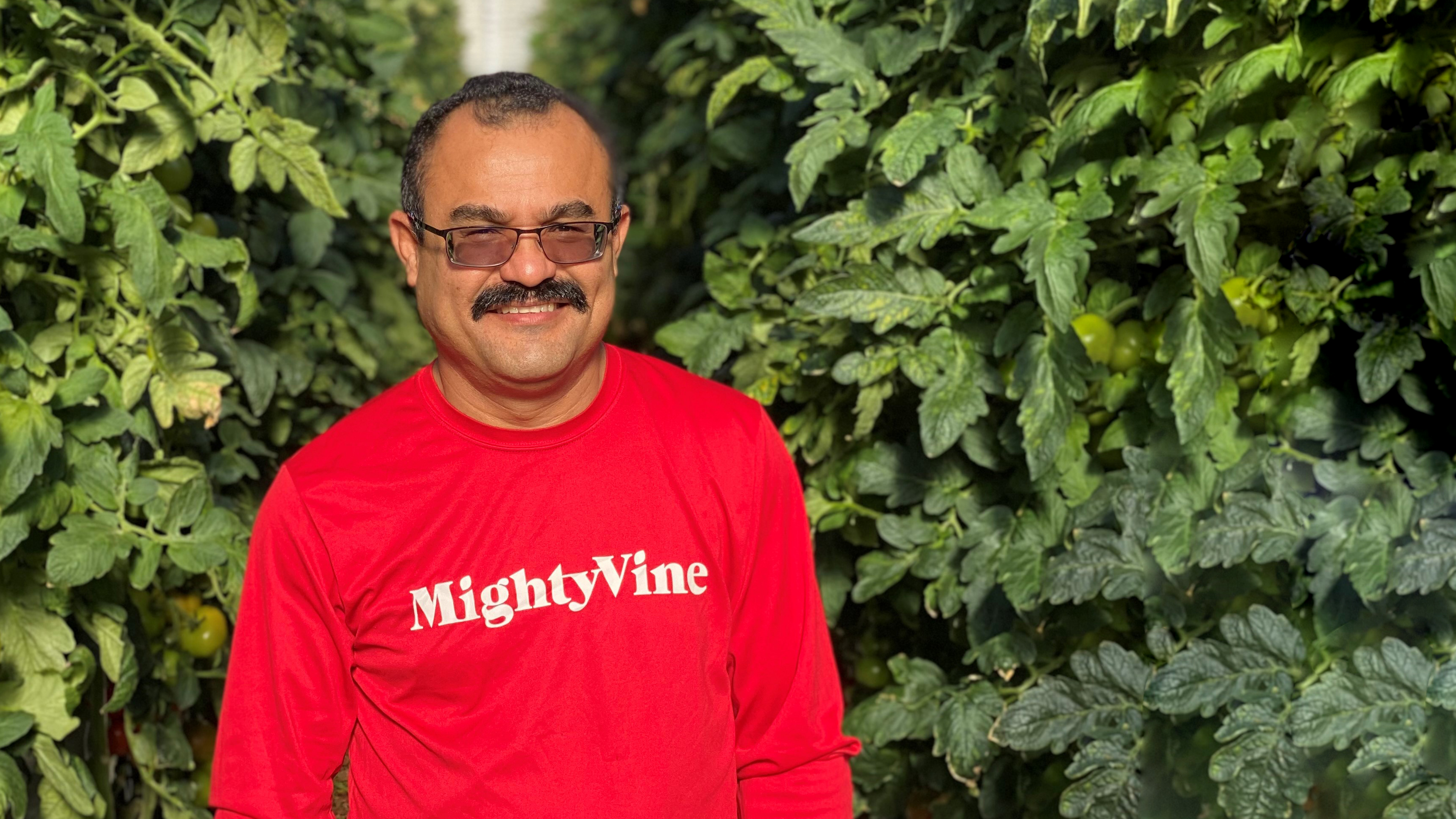 Ruben Vicencio, Head Grower, Mighty Vine, Chicago
